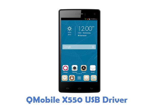 QMobile X550 USB Driver