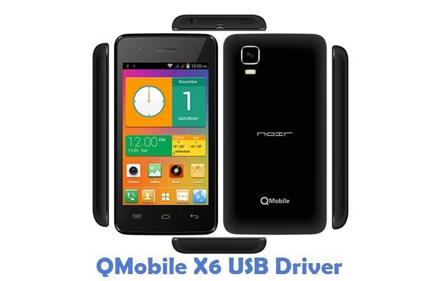 QMobile X6 USB Driver