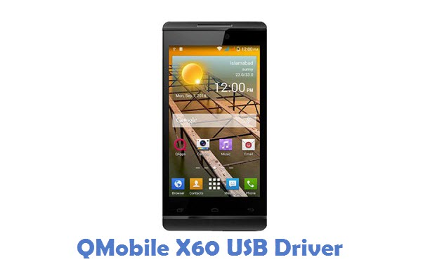 QMobile X60 USB Driver
