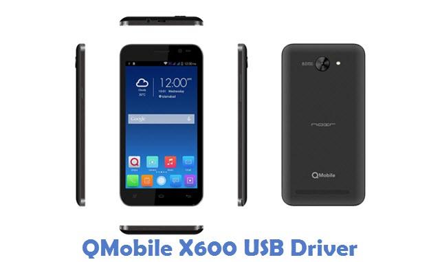 QMobile X600 USB Driver
