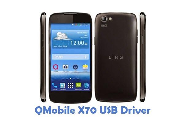 QMobile X70 USB Driver