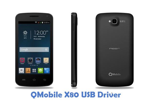 QMobile X80 USB Driver