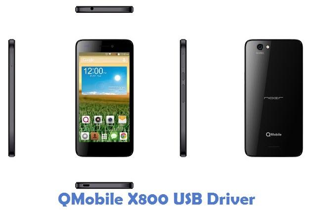 QMobile X800 USB Driver
