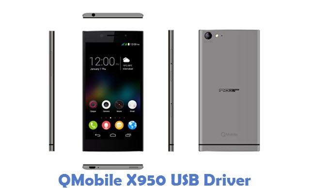 QMobile X950 USB Driver