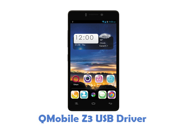QMobile Z3 USB Driver