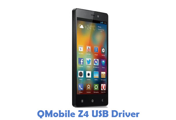QMobile Z4 USB Driver