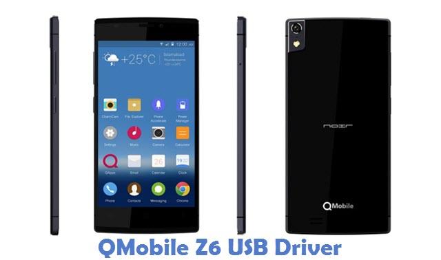 QMobile Z6 USB Driver