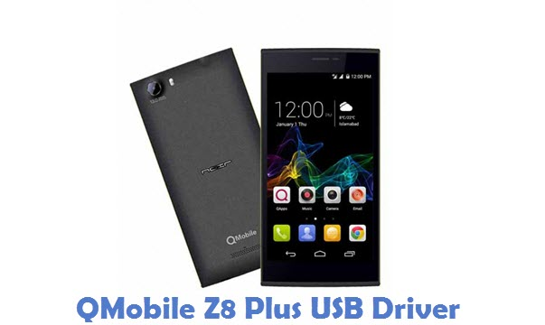 QMobile Z8 Plus USB Driver