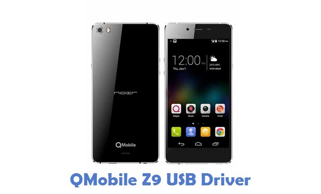 QMobile Z9 USB Driver