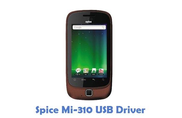 Spice Mi-310 USB Driver