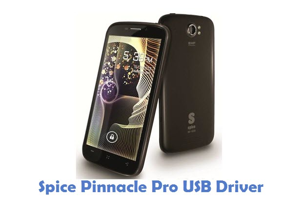 Spice Pinnacle Pro USB Driver