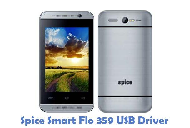 Spice Smart Flo 359 USB Driver