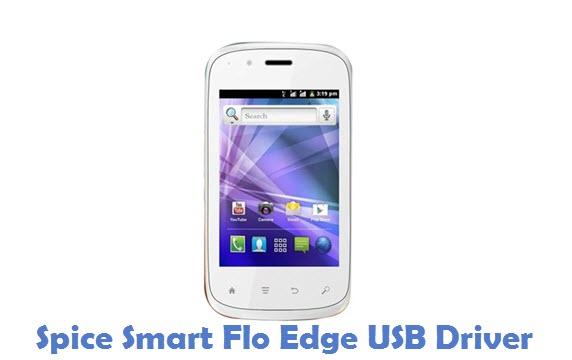 Spice Smart Flo Edge USB Driver