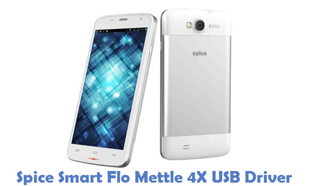 Spice Smart Flo Mettle 4X USB Driver