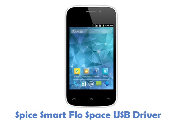 Spice Smart Flo Space USB Driver