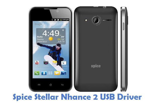 Spice Stellar Nhance 2 USB Driver