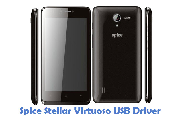 Spice Stellar Virtuoso USB Driver