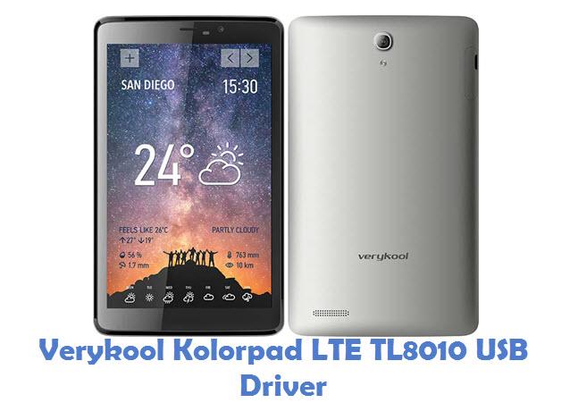 Verykool Kolorpad LTE TL8010 USB Driver