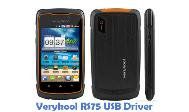 Verykool RS75 USB Driver