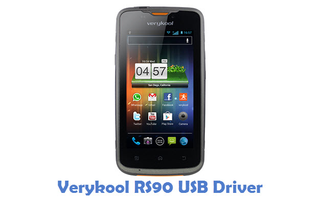 Verykool RS90 USB Driver