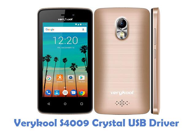 Verykool S4009 Crystal USB Driver