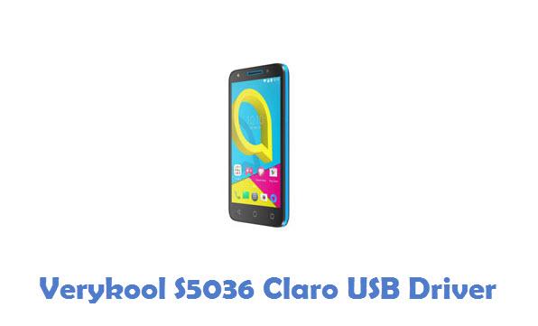 Verykool S5036 Claro USB Driver