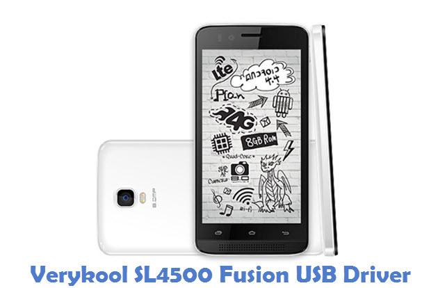 Verykool SL4500 Fusion USB Driver