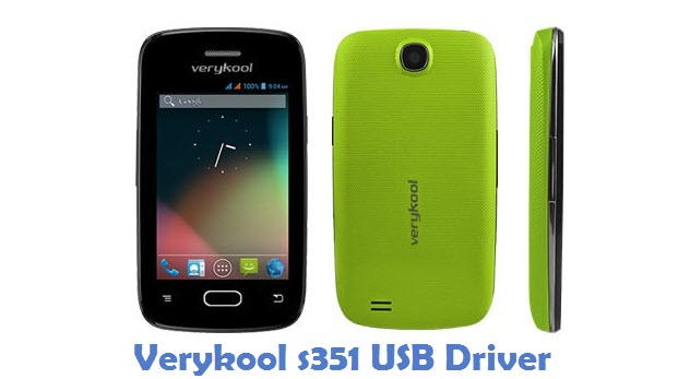 Verykool s351 USB Driver