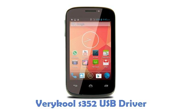 Verykool s352 USB Driver