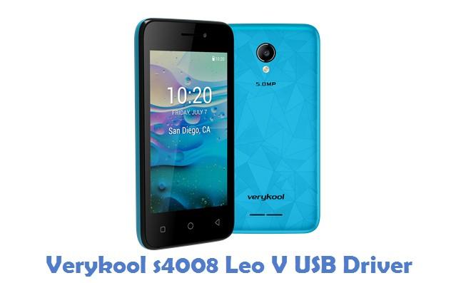 Verykool s4008 Leo V USB Driver