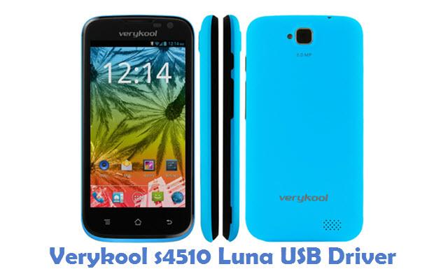 Verykool s4510 Luna USB Driver