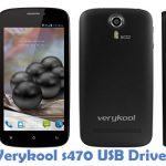 Verykool s470 USB Driver