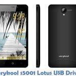 Verykool s5001 Lotus USB Driver