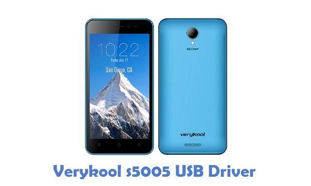 Verykool s5005 USB Driver