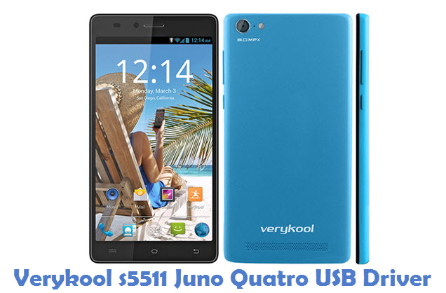Verykool s5511 Juno Quatro USB Driver