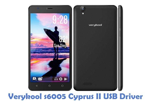 Verykool s6005 Cyprus II USB Driver