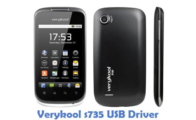 Verykool s735 USB Driver