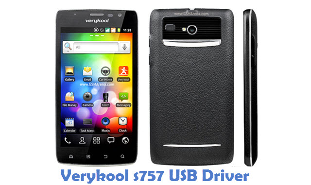 Verykool s757 USB Driver