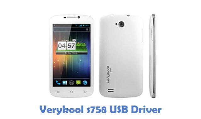 Verykool s758 USB Driver