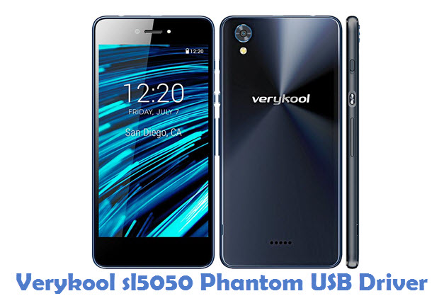 Verykool sl5050 Phantom USB Driver