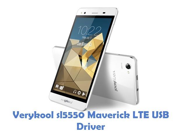Verykool sl5550 Maverick LTE USB Driver