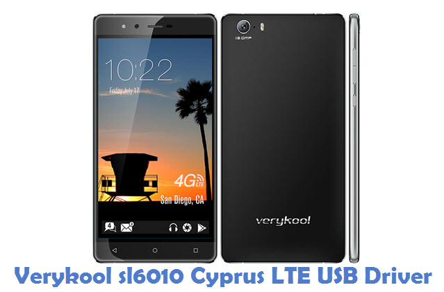 Verykool sl6010 Cyprus LTE USB Driver