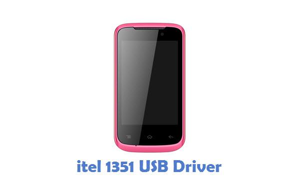 itel 1351 USB Driver