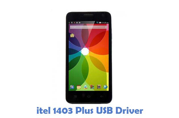 itel 1403 Plus USB Driver