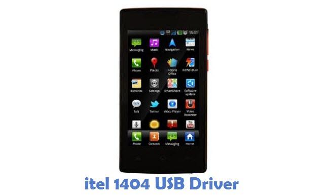 itel 1404 USB Driver