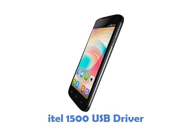 itel 1500 USB Driver