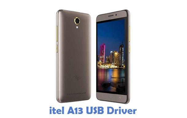 itel A13 USB Driver