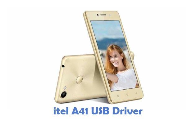 itel A41 USB Driver