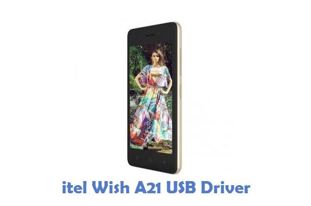 itel Wish A21 USB Driver
