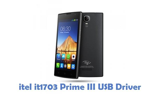itel it1703 Prime III USB Driver